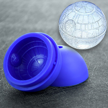 Silicone mould star wars ice ball