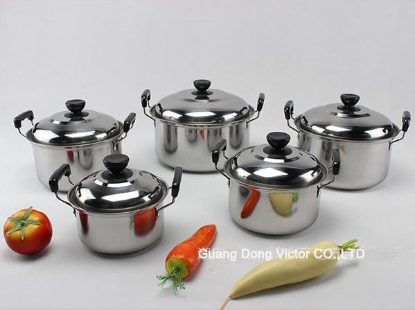 high pan set 5pcs