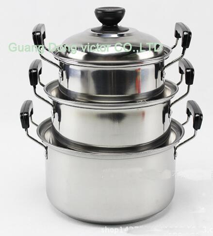 American high pan set panci 5 pcs